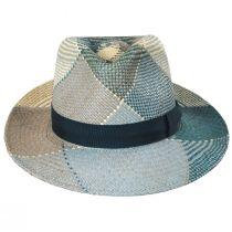 Giger Panama Straw Fedora Hat alternate view 2