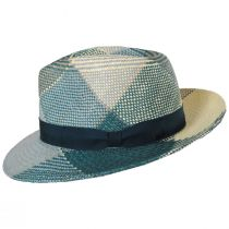 Giger Panama Straw Fedora Hat alternate view 3