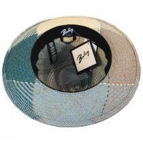 Giger Panama Straw Fedora Hat alternate view 4