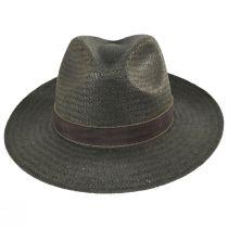 Rothney Raindura Straw Fedora Hat alternate view 2