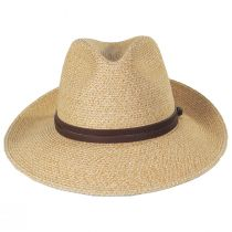 Balans Roll Up Toyo Straw Blend Fedora Hat alternate view 10