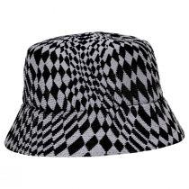Warped Check Tropic Bucket Hat alternate view 3
