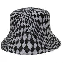 Warped Check Tropic Bucket Hat alternate view 6