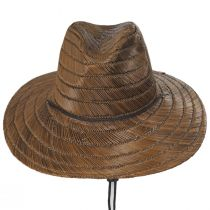 Bells Toffee Rush Straw Lifeguard Hat alternate view 2