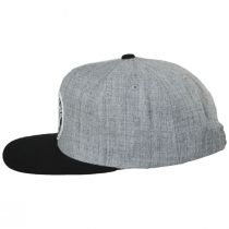 Rival Gray/Black Wool Blend Snapback Baseball Cap alternate view 3
