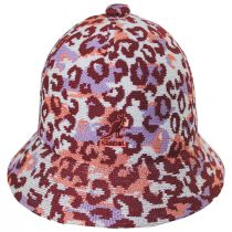 Carnival Peach Casual Tropic Bucket Hat alternate view 6