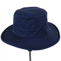 TP102 Navy Blue Waterproof Bucket Hat alternate view 2