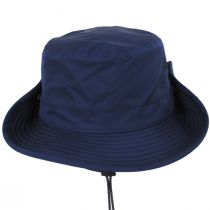 TP102 Navy Blue Waterproof Bucket Hat alternate view 3