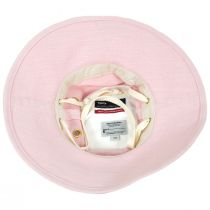 Broadbrim Pink Hemp Fabric Sun Hat alternate view 4