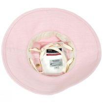 Broadbrim Pink Hemp Fabric Sun Hat alternate view 8