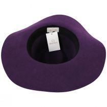 Maya Purple Wool Felt Fedora Hat alternate view 4