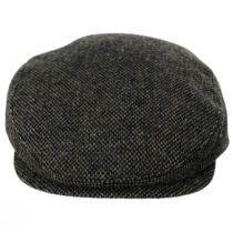 Donegal Olive Green Shetland Earflap Wool Ivy Cap alternate view 2