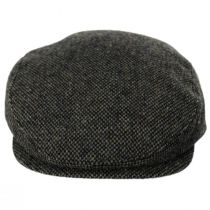 Donegal Olive Green Shetland Earflap Wool Ivy Cap alternate view 7