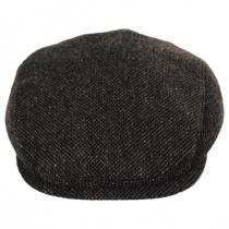 Donegal Brown Shetland Earflap Wool Ivy Cap alternate view 2