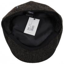 Donegal Brown Shetland Earflap Wool Ivy Cap alternate view 30