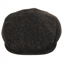 Donegal Brown Shetland Earflap Wool Ivy Cap alternate view 37