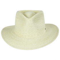Marco Natural Palm Straw Fedora Hat alternate view 2