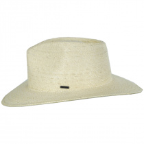 Marco Natural Palm Straw Fedora Hat alternate view 3