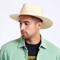 Marco Natural Palm Straw Fedora Hat alternate view 12