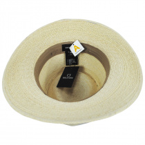 Marco Natural Palm Straw Fedora Hat alternate view 16