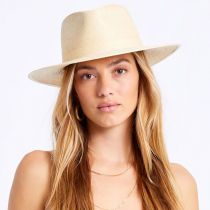 Marco Natural Palm Straw Fedora Hat alternate view 17