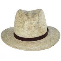 Messer Palm Straw Fedora Hat alternate view 2