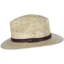 Messer Palm Straw Fedora Hat alternate view 3
