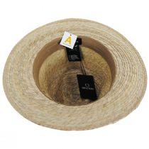 Messer Palm Straw Fedora Hat alternate view 4