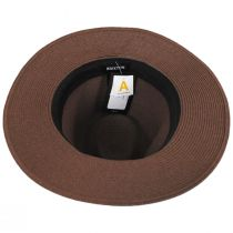 Wesley Braided Toyo Straw Fedora Hat alternate view 4