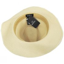 Wesley Braided Toyo Straw Fedora Hat alternate view 24