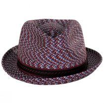 Mannes Poly Braid Fedora Hat alternate view 64