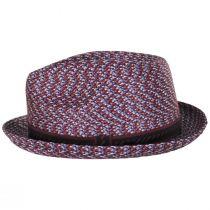 Mannes Poly Braid Fedora Hat alternate view 100