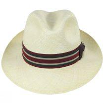 Lux Grade 8 Panama Straw Fedora Hat alternate view 2