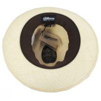 Lux Grade 8 Panama Straw Fedora Hat alternate view 4