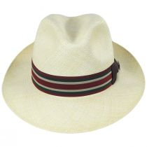 Lux Grade 8 Panama Straw Fedora Hat alternate view 6