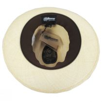 Lux Grade 8 Panama Straw Fedora Hat alternate view 12