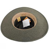Ore Raindura Straw Blend Outback Hat alternate view 4
