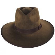 Jo Wool Felt Rancher Fedora Hat alternate view 30