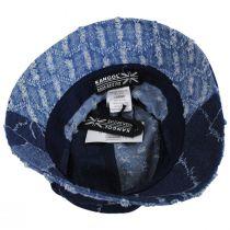 Patchwork Mashup Denim Cotton Bucket Hat alternate view 4