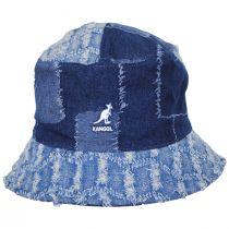 Patchwork Mashup Denim Cotton Bucket Hat alternate view 6