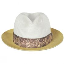 Haring Two-Tone Braided Trilby Fedora Hat alternate view 22