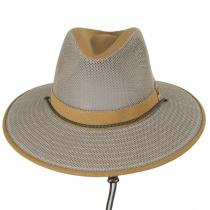 Sawatch Mesh and Cotton Canvas Aussie Fedora Hat alternate view 2
