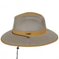 Sawatch Mesh and Cotton Canvas Aussie Fedora Hat alternate view 3