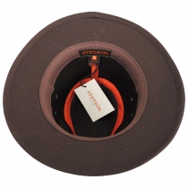 Chelan Suede Leather Safari Fedora Hat alternate view 12