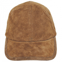 Cascade Suede Leather Fitted Baseball Cap alternate view 2