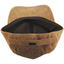 Cascade Suede Leather Fitted Baseball Cap alternate view 4