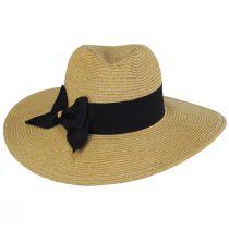 Catalina Toyo Straw Blend Fedora Hat alternate view 6