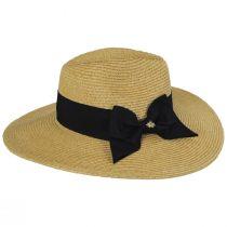Catalina Toyo Straw Blend Fedora Hat alternate view 7