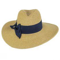 Catalina Toyo Straw Blend Fedora Hat alternate view 10