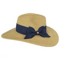 Catalina Toyo Straw Blend Fedora Hat alternate view 11